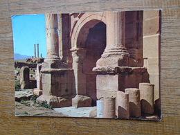 """Algérie , Timgad , Arcde Triomphe Et Les Colonnes Du Capitole """""""" Très Beau Timbre """""""" - Algeria"""