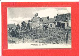 80 ERCHES Cpa Maisons En Ruine             606 ND - Autres Communes
