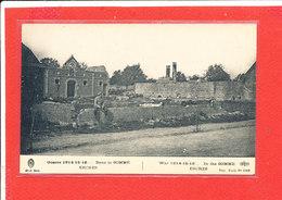 80 ERCHES Cpa Animée SOLDAT Devant Maisons En Ruine         1508 ELD - Autres Communes