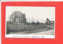 80 ERCHES Cpa L ' Eglise               112 Huret - Autres Communes