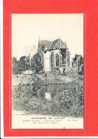 80 ERCHES Cpa Ruines De L '' Eglise               607 ND - Autres Communes