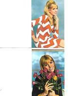 Lot De 2 Calendriers De Poche 1974 / Portrait - Calendars
