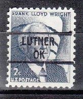 USA Precancel Vorausentwertung Preo, Locals Oklahoma, Luther 841 - Vereinigte Staaten