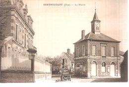 60 - Berthecourt (oise) - La Mairie - Francia