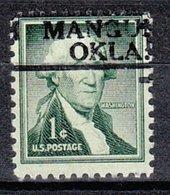 USA Precancel Vorausentwertung Preo, Locals Oklahoma, Mangum 811 - Vereinigte Staaten