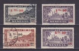 Senegal N°189,190*,192,193* - Senegal (1887-1944)
