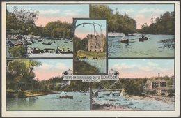 Multiview, Views On The Humber River, Toronto, Ontario, C.1910 - Valentine's Postcard - Toronto