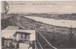 Cpa Suisse - Grub Vom Albishorn - Bilck Nach Zûrich ( Circulé-voir  Scan Recto-verso) - ZH Zurich