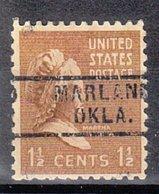 USA Precancel Vorausentwertung Preo, Locals Oklahoma, Marland 729 - Vereinigte Staaten