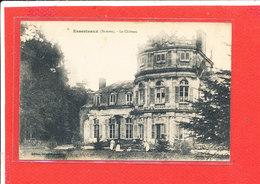 80 ESSERTAUX Cpa Animée Le Chateau       Edit Dela..... - Autres Communes