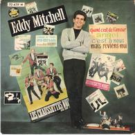 Disque Vinyle 45 T  EDDY MITCHELL BARCLAY 70479 QUAND C EST DE L AMOUR / ANGE / C EST A NOUS / MAIS REVIENS MOI - Vinyl Records