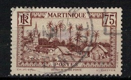 MARTINIQUE     N° YVERT  :    146    ( 27 )         OBLITERE       ( S D ) - Martinique (1886-1947)