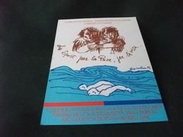 CECINA 1994 NUOTO CAMPIONATO REGIONALE SCUOLE  CARITAS CITTADINA   ILLUSTRATORE SIRIO BANDINI LIVORNO - Manifestazioni