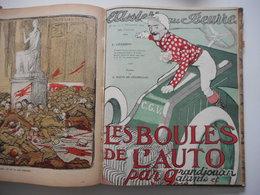 L'ASSIETTE AU BEURRE, ANNEE 1904, 2 VOLUMES, RELIURES, COMPLET - Livres, BD, Revues