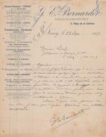 54 914 NANCY MEURTHE ET MOSELLE 1907 Ingenieur Constructeur G. E. BERNARDET Place Carriere TRANSPORT MONTE CHARGES - France