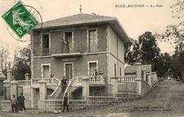 CPA OUED AMIZOUR. La Poste, Homme Avec Un Fusil. 1914. - Algeria