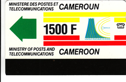 Cameroon Phonecard - Superb Fine Used - Nice Bright Colour - Cameroon