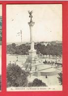 BORDEAUX MONUMENT DES GIRONDINS CARTE EN BON ETAT - Bordeaux