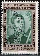 Argentinien 1950, Michel# 573 O José Francisco De San Martín (1778-1850) - Argentinien