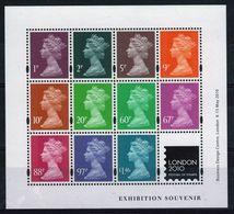 GB 2010 Mini Sheet Celebrating Festival Of Stamps Jeffery Matthews Unmounted Mint Condition. - Blocks & Miniature Sheets