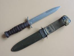 Poignard USM3 IMPERIAL Marquage Lame, TBE, Quasi Neuf, US WW2. - Armes Blanches