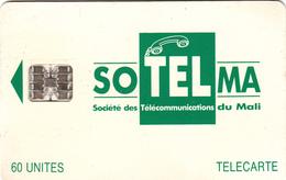Mali Phonecard - Superb Fine Used 60u ((Schlumberger) - Mali