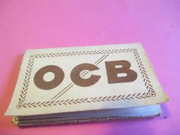 Carnet Papier Cigarettes/OCB/Papeteries R Bolloré/Couverture Carton Léger/Provisoire/N°4/Finistére/Vers1920-1950 CIG47 - Other