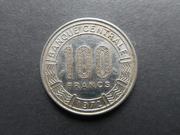 Central African Republic 100 Francs 1972 - Central African Republic