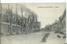 CAYEUX EN SANTERRE - L'église - Autres Communes