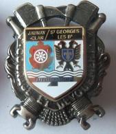 INSIGNE SAPEURS POMPIERS  JAUNAY CLAN - Firemen