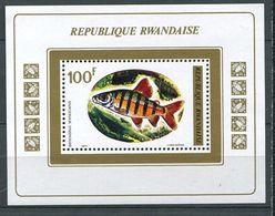 222 RWANDA 1973 - Yvert BF 30 - Poisson - Neuf ** (MNH) Sans Trace De Charniere - Rwanda