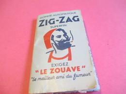 Carnet Papier Cigarettes/ZIG-ZAG Gommé Automatique/Superfin/Le Zouave/Braustein Fréres Paris /Vers1960-1970      CIG48 - Zigarettenzubehör