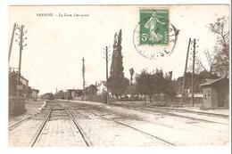 Sannois - La Gare - Les Quais 1908 - Sannois