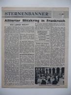 WWII WW2 Tract Flugblatt Propaganda Leaflet In German Code USG.48, Sternenbanner, No. 17, 9 August 1944  FREE SHIPPING - Alte Papiere