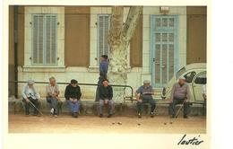 SPORT PETANQUE JEU DE BOULES BOULISTES PHOTOGRAPHE  LAUTIER PROVENCE - Pétanque
