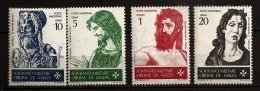 Ordre De Malte 1967 N° 19 / 22 ** Art, Saint Jean-Baptiste, Pinturicchio, Donatello, Botticelli, Le Titien, Évangile - Malte (Ordre De)