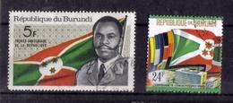 LOT DE TIMBRES OBLITERE - Burundi