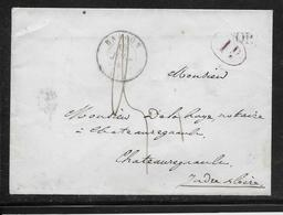 France T.15 Ballon (71) - Divers Cachets - 1849 - 1849-1876: Klassieke Periode