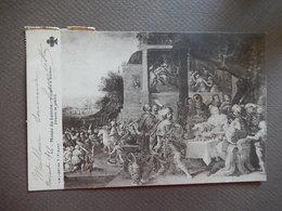 MUSEE DU LOUVRE - HISTOIRE D'ESTHER - FRANK LE VIEUX - TIMBREE 1908 - R13710 - Pittura & Quadri