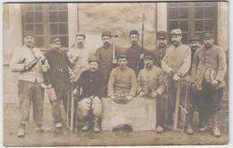 Le Mans. Caserne Négrier. 117e Régiment D 'Infanterie. Sapeurs. 1916. ( Carte Photo ) - Le Mans