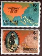 Bahamas 1976 American Independence MNH - Bahamas (1973-...)