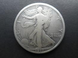 United States ½ Dollar 1917 Walking Liberty Half Dollar - Federal Issues