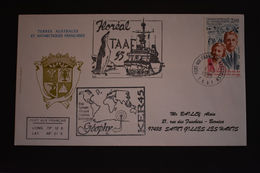 TAAF - 1ere Escale De La FS Floreal à Port Aux Français Kerguelen - 4 Mai 1995 - Terres Australes Et Antarctiques Françaises (TAAF)