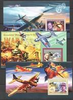 Z1227 2006 DE GUINEE AVIATION MILITARY & WAR WORLD WAR II WWII 3BL MNH - 2. Weltkrieg
