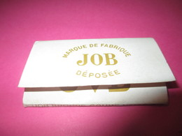 Carnet Papier Cigarettes/JOB Marque De Fabrique Déposée/Bardoux/ Couverture Souple /Vers 1920-1950  CIG53 - Altri