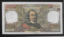 France 100 Francs Corneille - 4-1-1973 - Fayette N°65-41 - TB - 1962-1997 ''Francs''