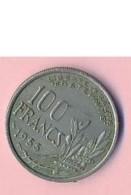 Pièce De Mommaie- B3112 -  France - 100 Francs 1955( Type, Nature, Valeur, état... A Apprécier D'après Double Scan) - France