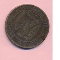 Pièce De Mommaie  - B3115 -  France - 10 Centimes 1855 ( Type, Nature, Valeur, état... A Apprécier D'après Double Scan) - France