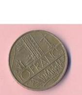Pièce De Mommaie  - B3120-  France - 10 Francs 1976 ( Type, Nature, Valeur, état... A Apprécier D'après Double Scan) - France