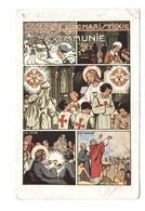 Religion Christianisme Cpa Croisade Eucharistique Communie Communion Tiré D' Une Affiche De La Devise Du Croisé - Jésus